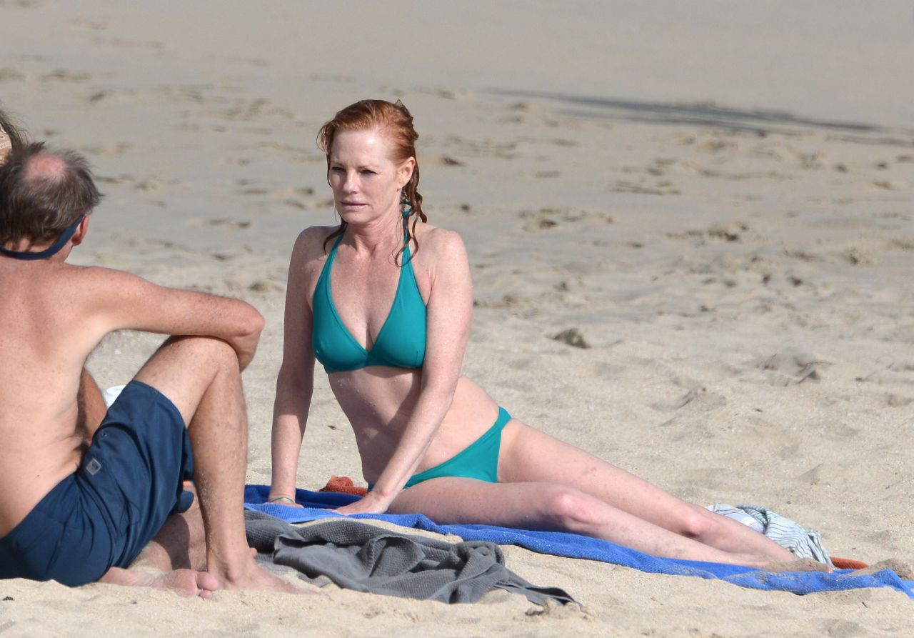 Marg Helgenberger Bikini Candids
