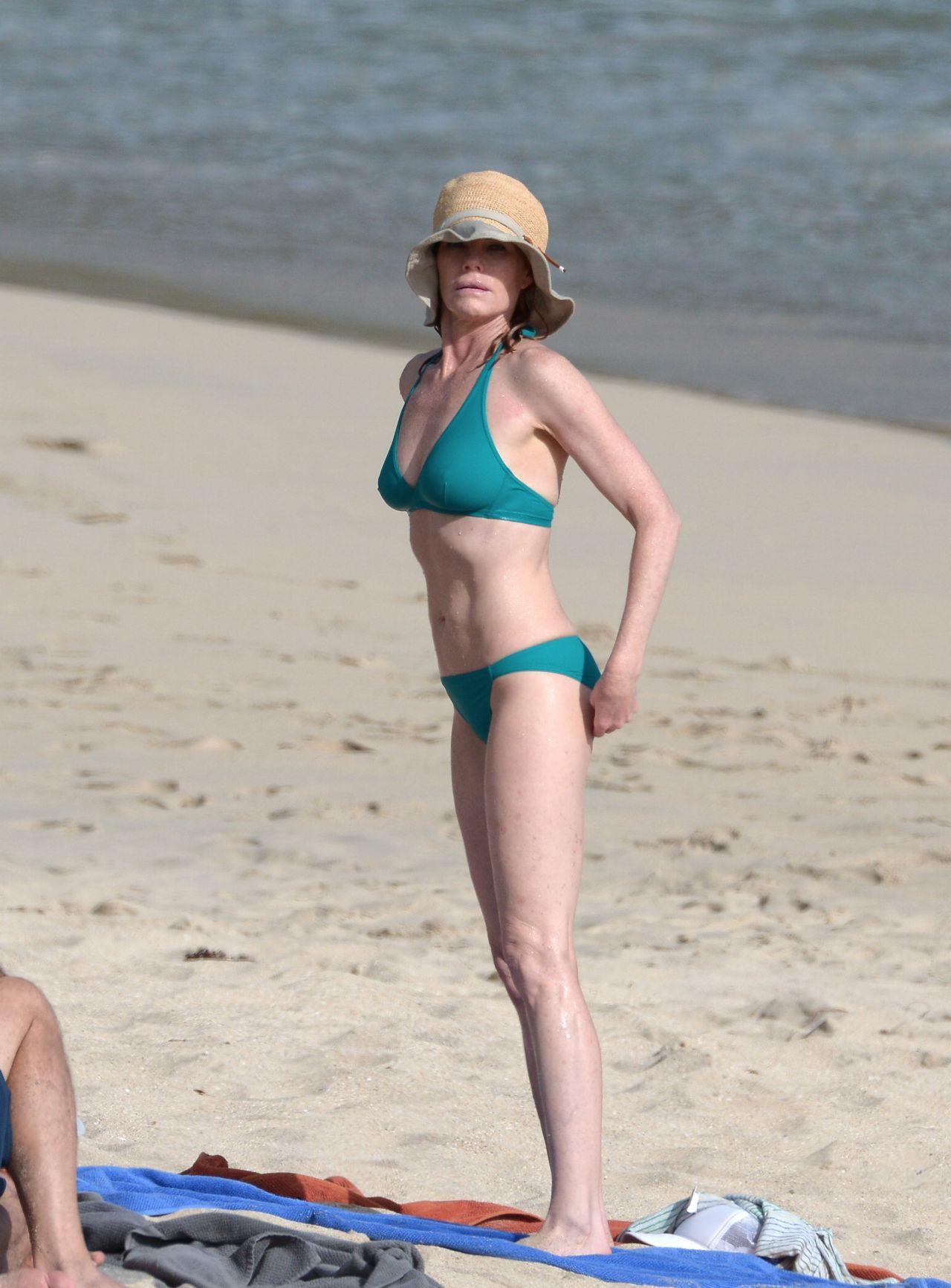 Marg Helgenberger Bikini Candids - St Barts, December 2013-1812