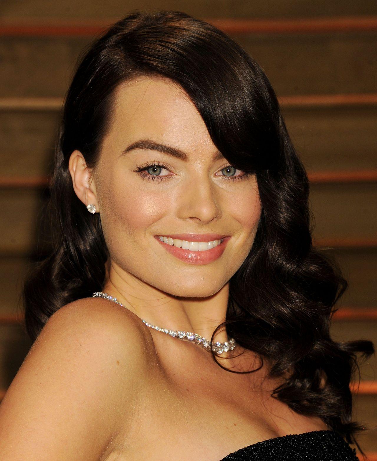 Margot Robbie 2014 Vanity Fair Oscars Party