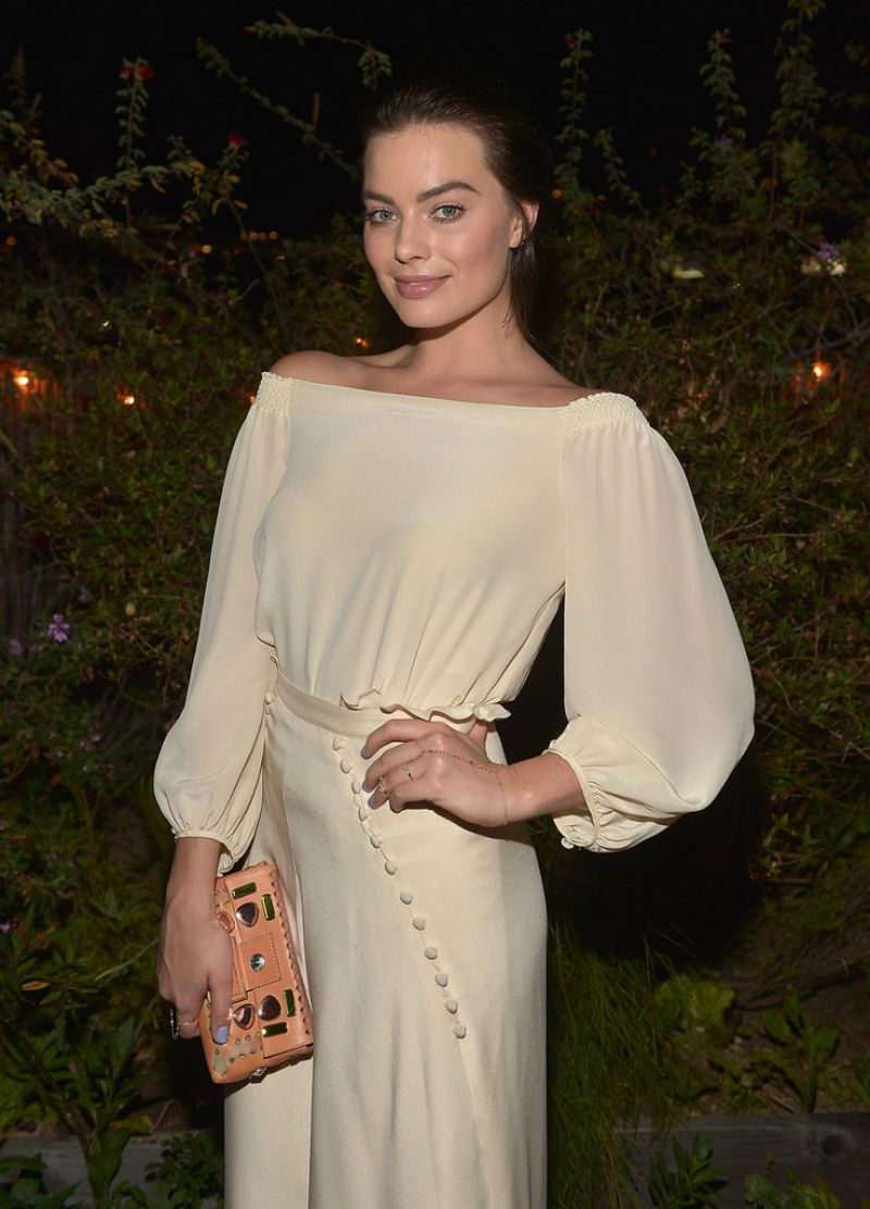 Margot Robbie at Carmella Dinner in West Hollywood - March 2014