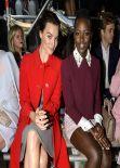 Margot Robbie Attends Miu Miu F/W Fashion Show in Paris