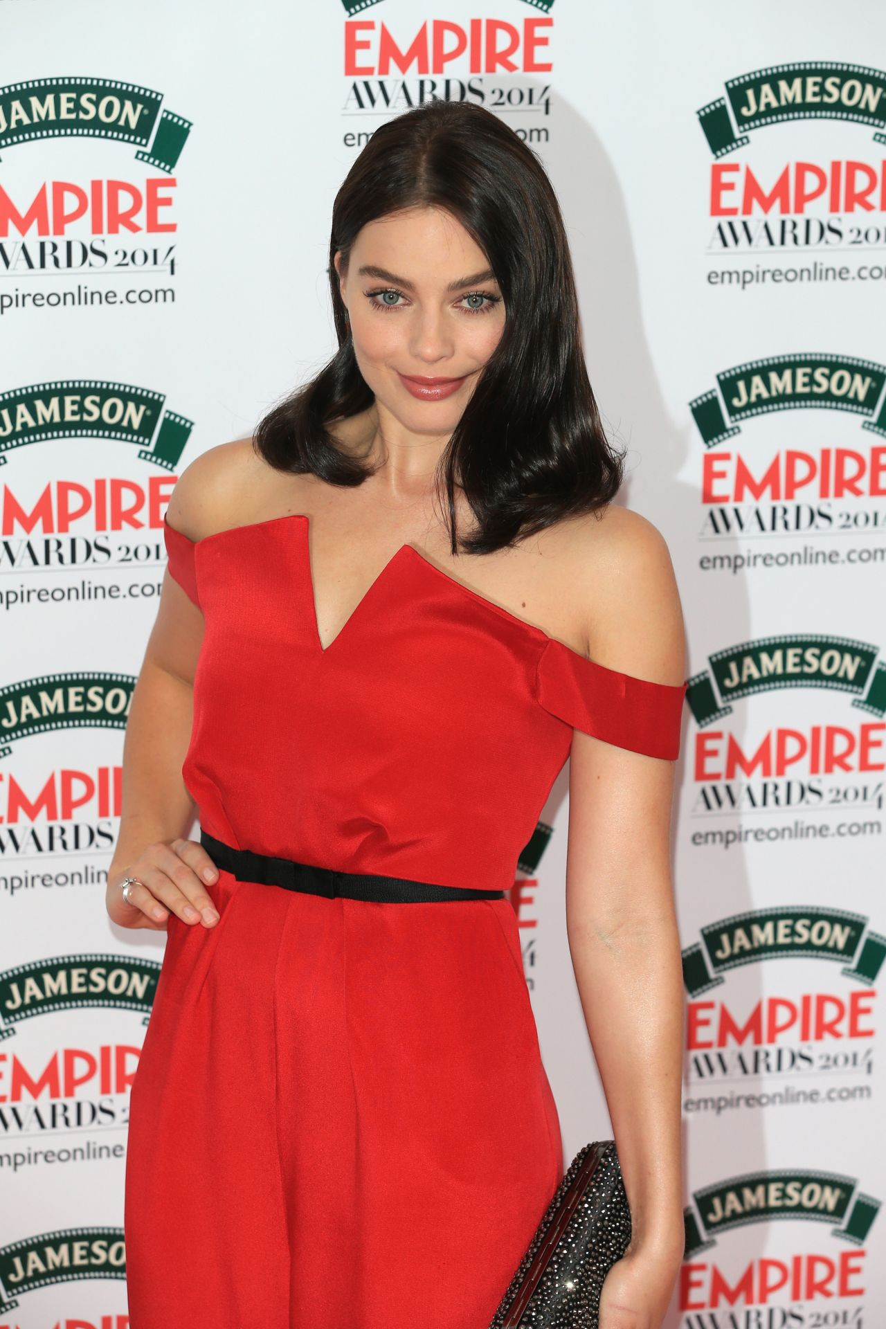 Margot Robbie Wearing Paper London Dress - Jameson Empire Awards 2014 in London