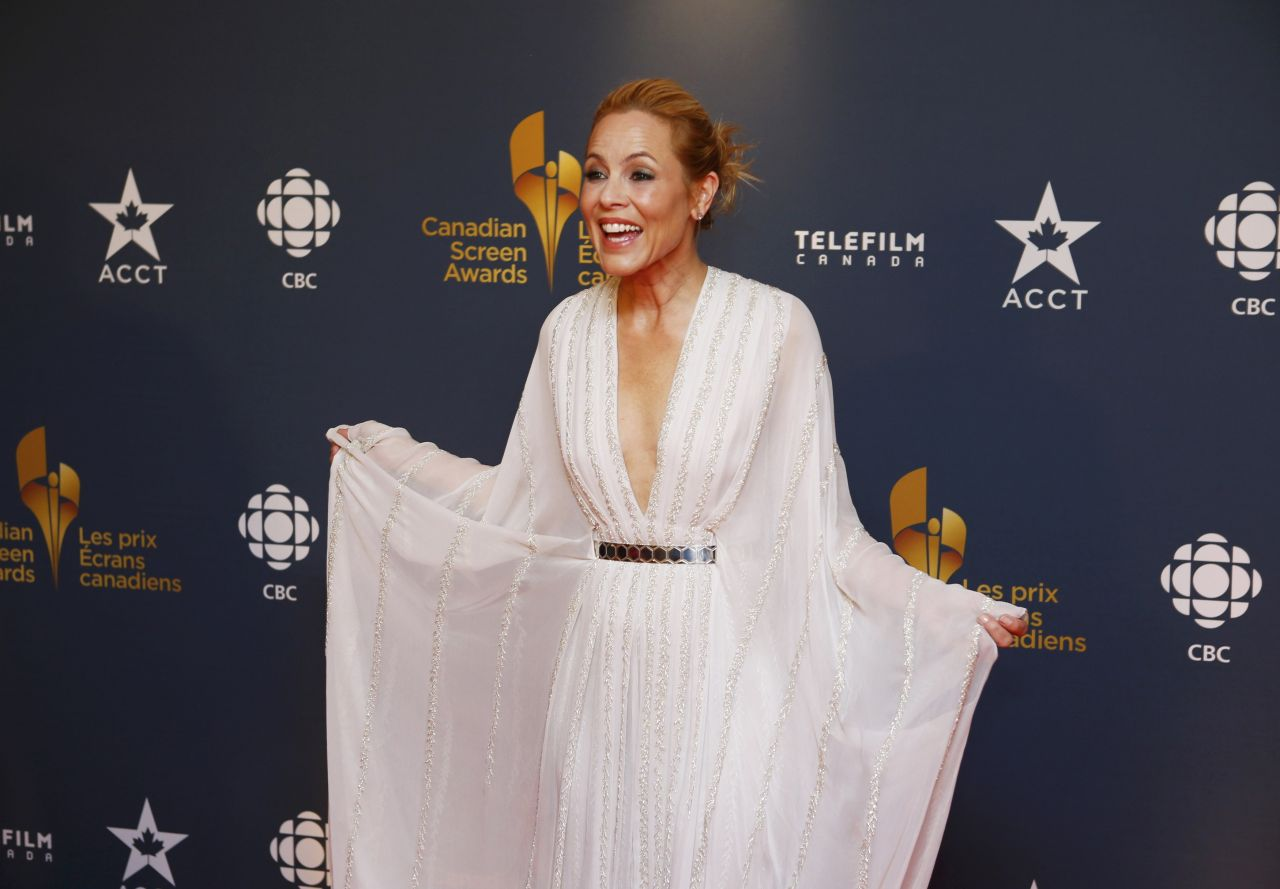 Maria Bello at Canadian Screen Awards - March 2014
