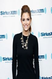 Maria Menounos at SiriusXM Studio in NYC - March 2014