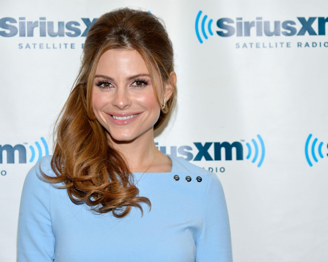 Maria Menounos at SiriusXM Studios in New York City - March 2014