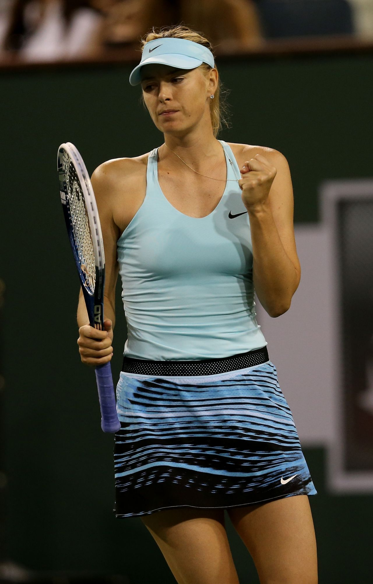 Maria Sharapova - 2014 Indian Wells BNP Paribas (Round 2)
