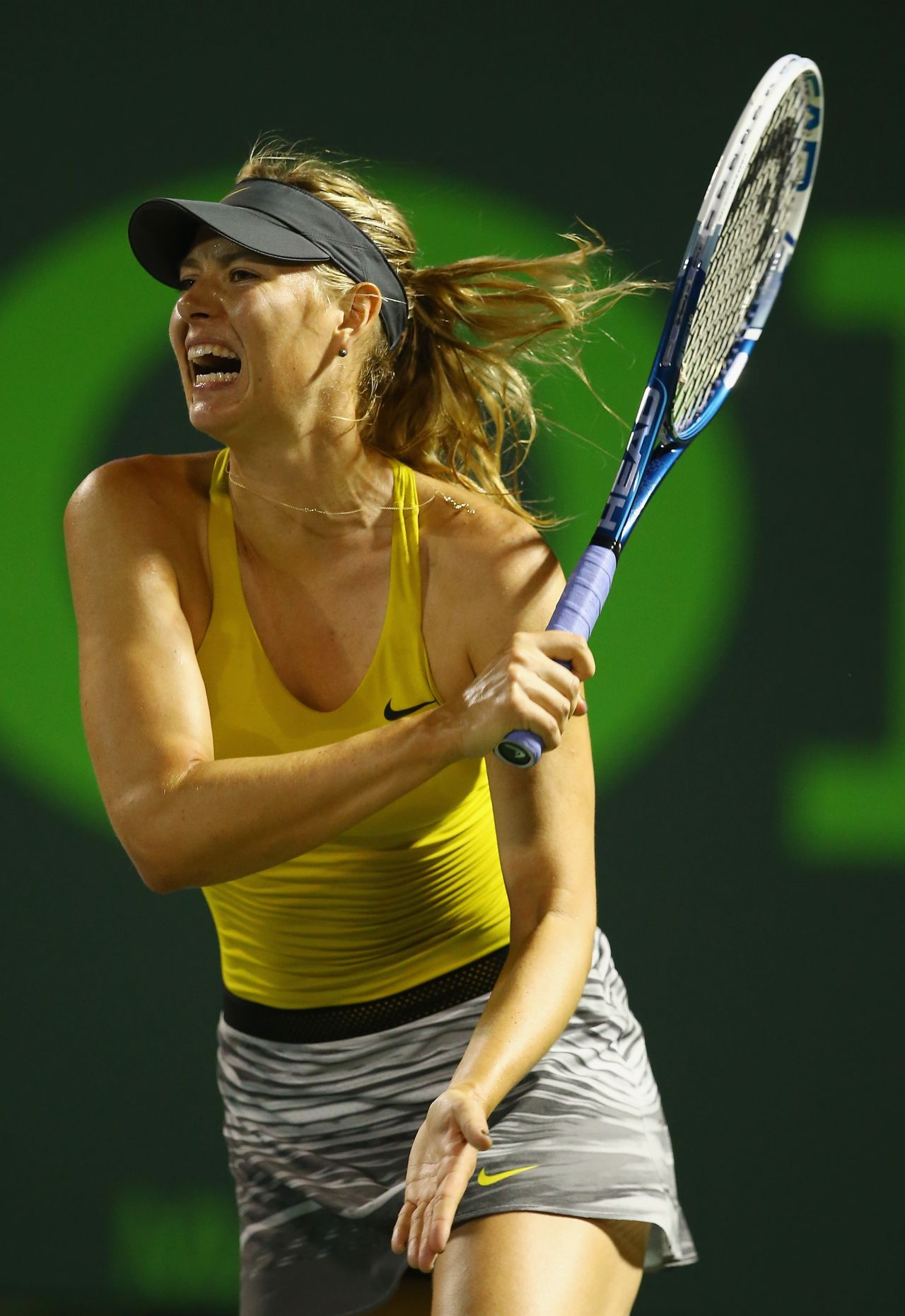 Maria Sharapova - 2014 Miami Sony Open - 2nd round