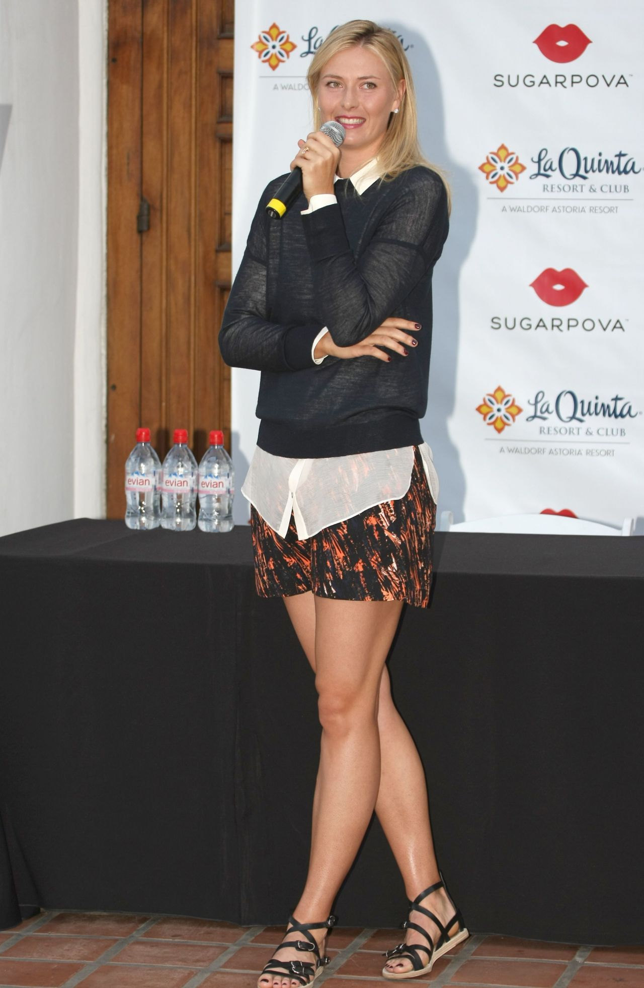 Maria Sharapova - Sugapova photocall, La Quinta, California, March 2014