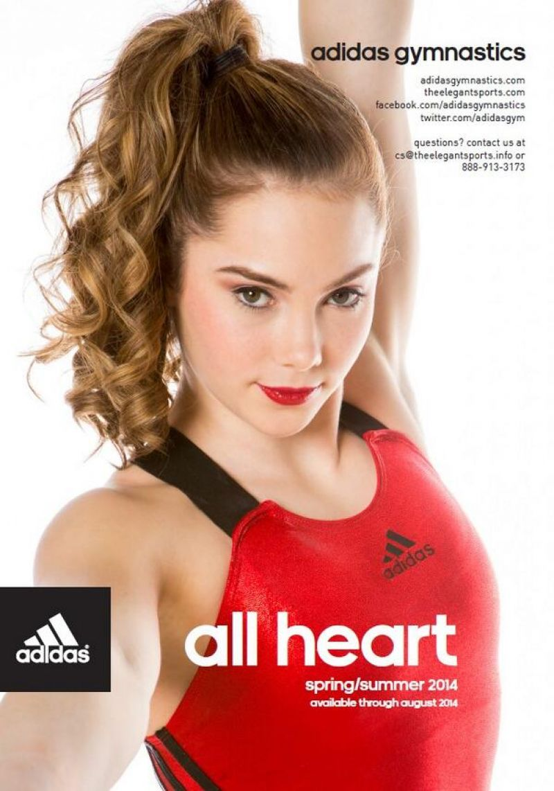 Mckayla Maroney - Adidas Gym Catalog Cover (2014)