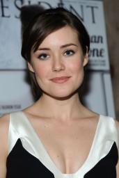 Megan Boone – Resident Magazine March 2014 Issue Celebration in New York