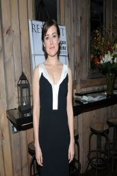 Megan Boone - Resident Magazine March 2014 Issue Celebration in New York