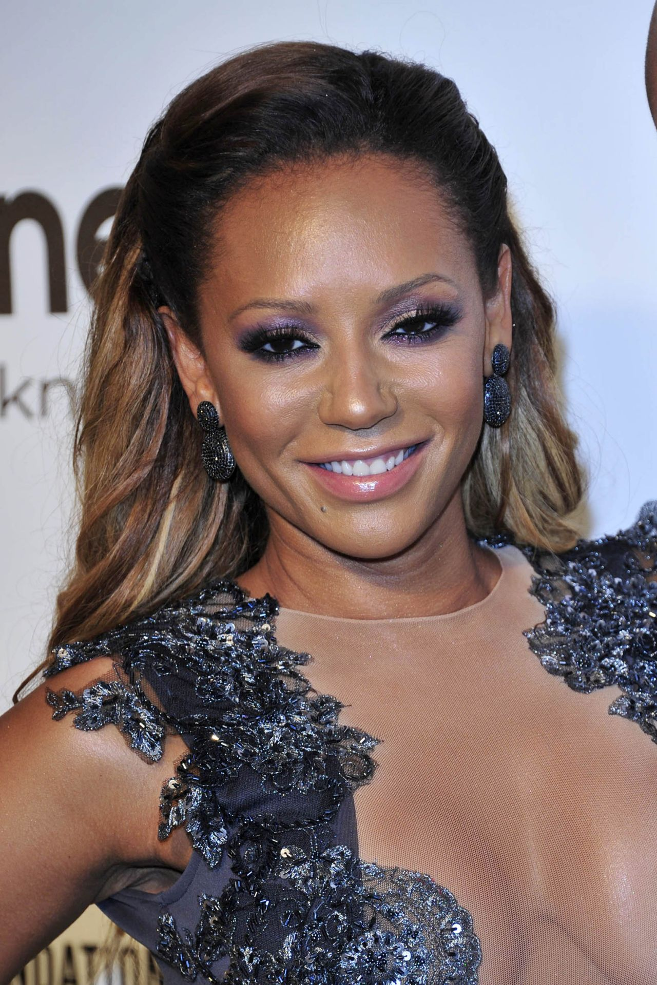 Melanie Brown – 2014 Elton John Oscar Party