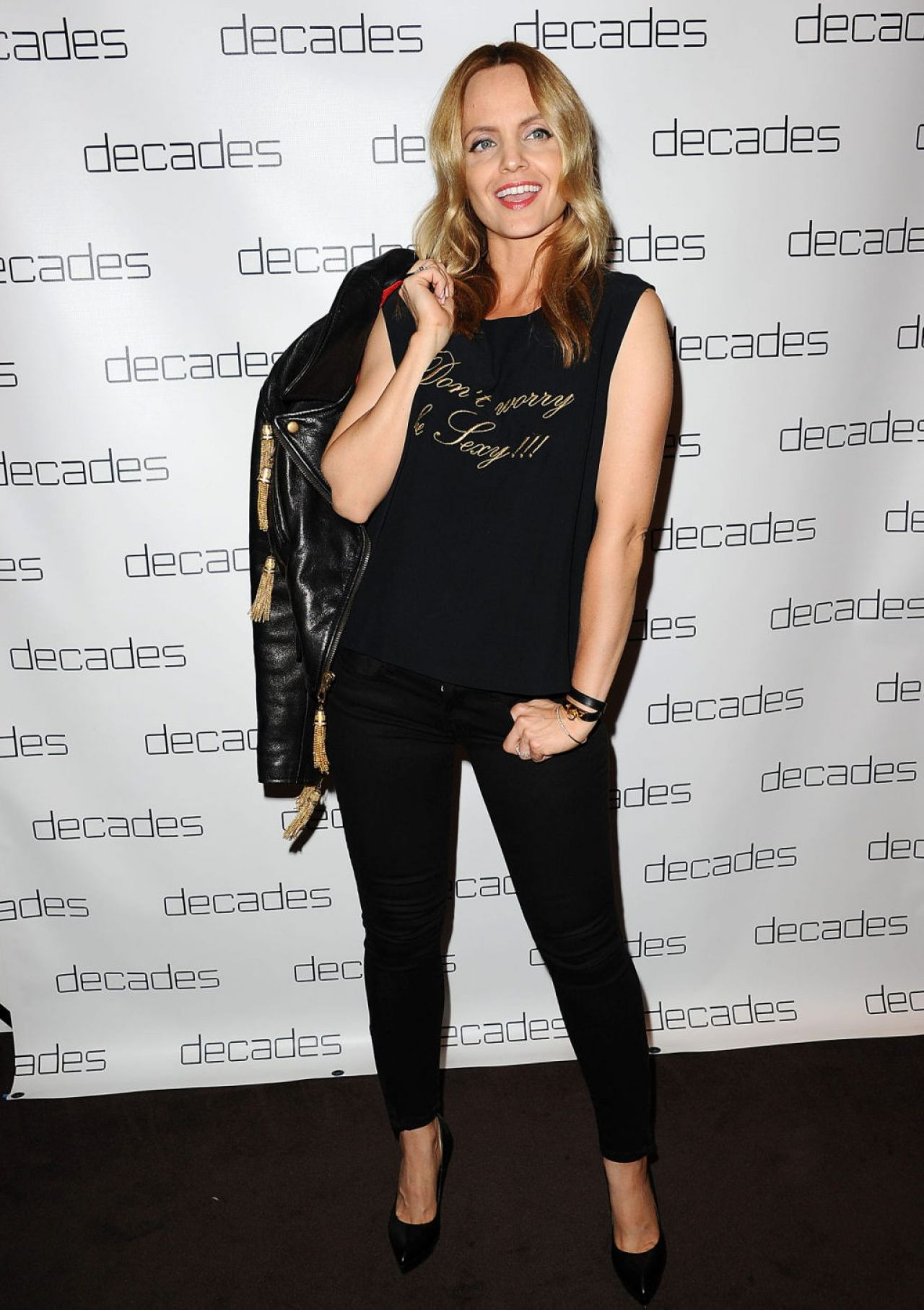 Mena Suvari at Decades Les Must De Moschino Event, March 2014