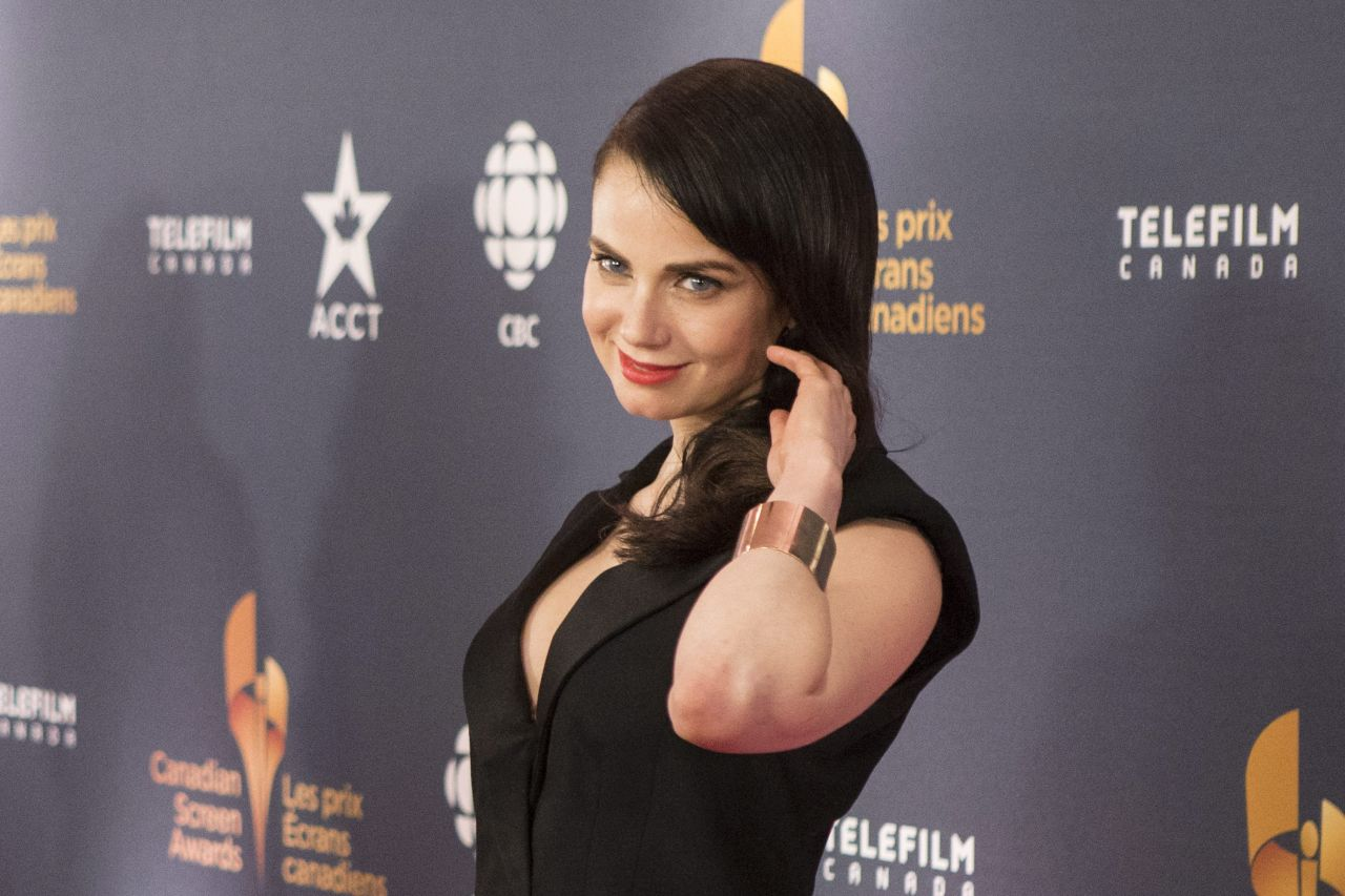 Mia Kirshner - 2014 Canadian Screen Awards