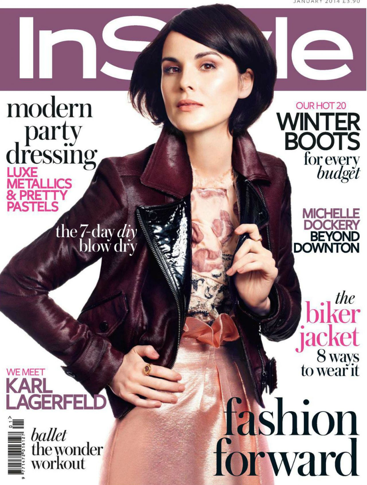 Instyle Magazine Us: InStyle Magazine (UK) January 2014 Issue