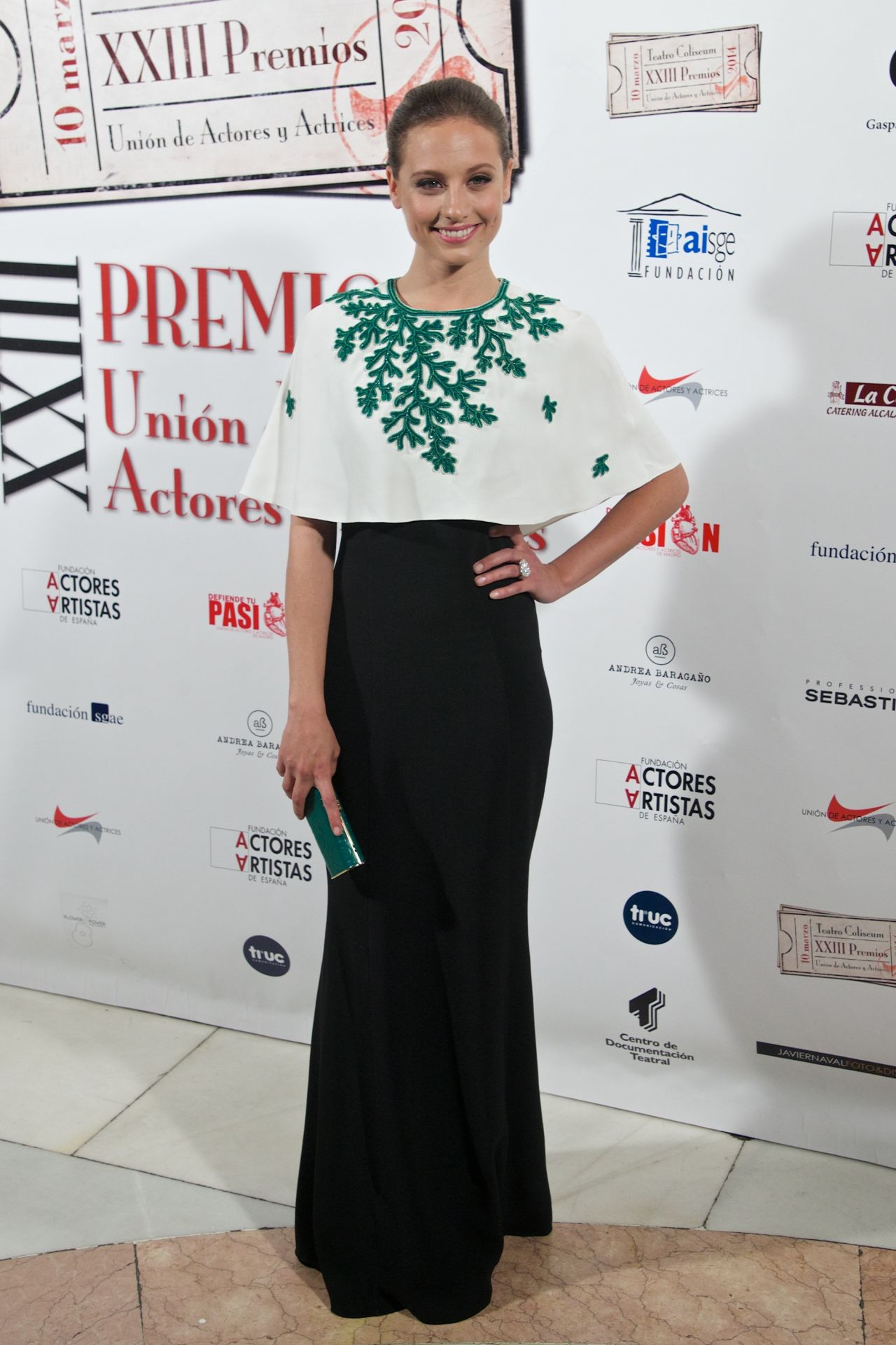 Michelle Jenner in Andrew Gn Dress - 2014 Union de Actores Awards