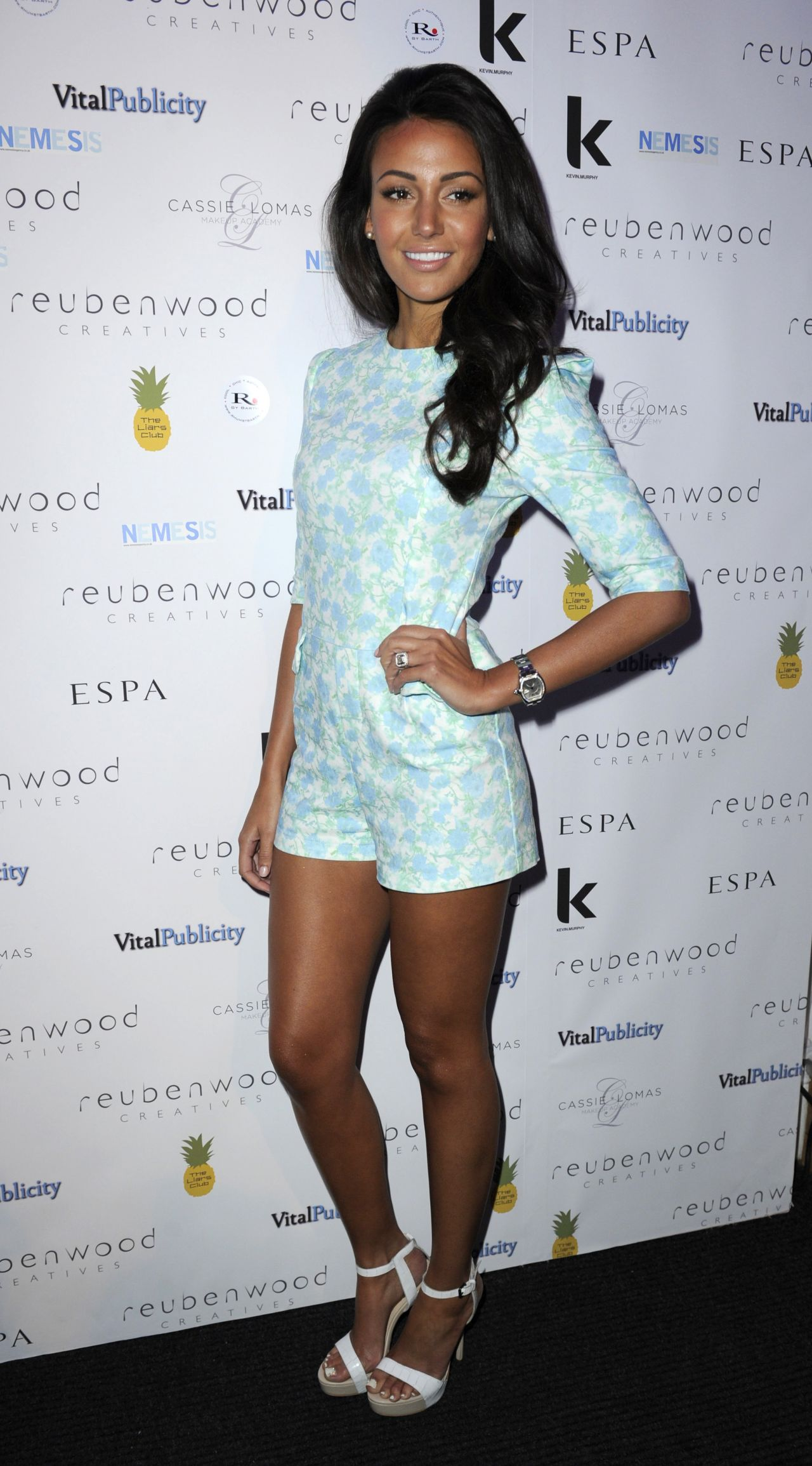 Michelle Keegan at Reuben Wood Party -Manchester, March 2014