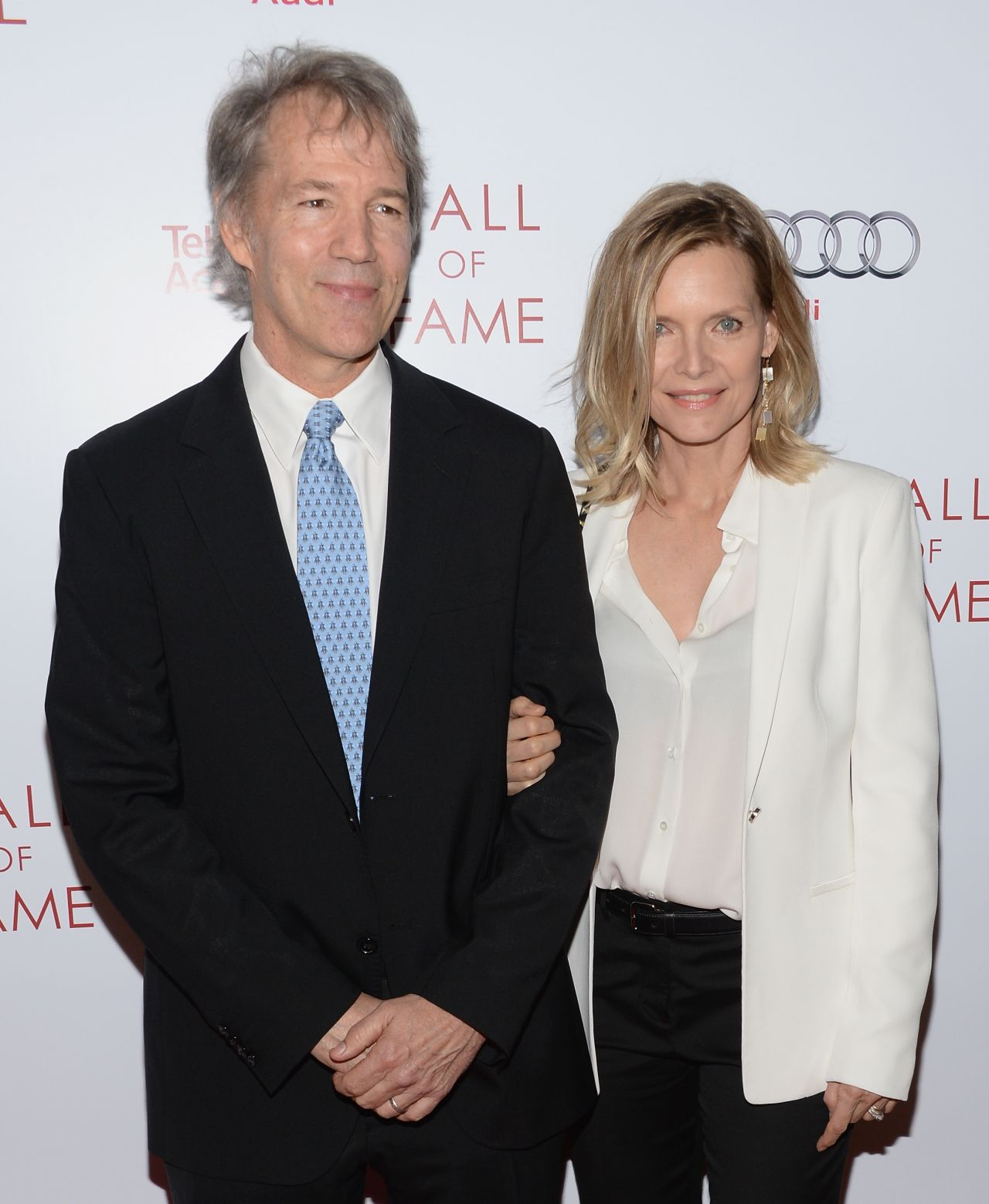 Michelle Pfeiffer and David E. Kelley - The Television Academy