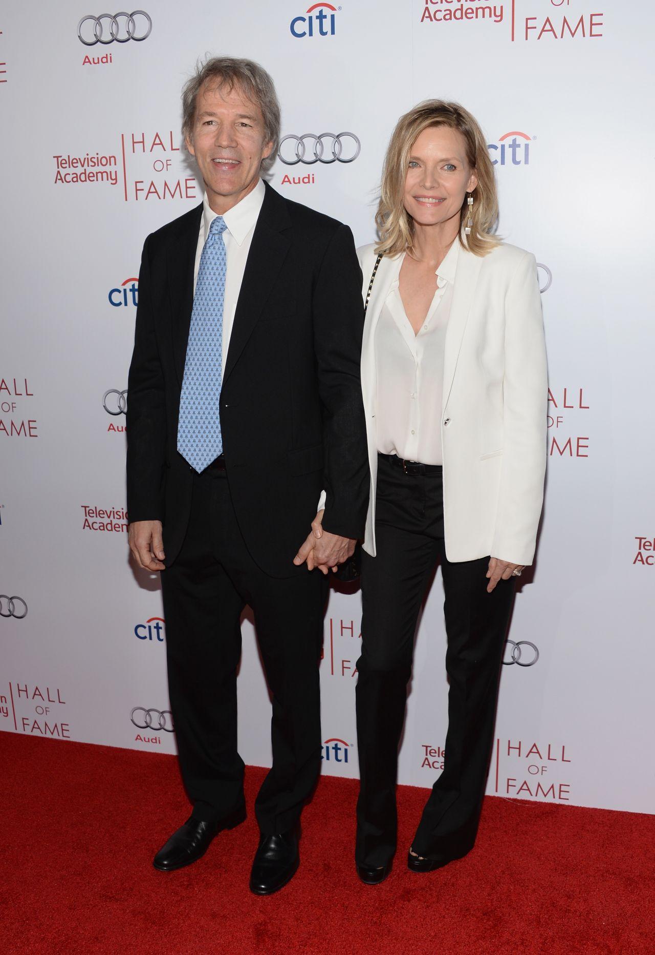 Michelle Pfeiffer 2014 Michelle Pfeiffer And David e