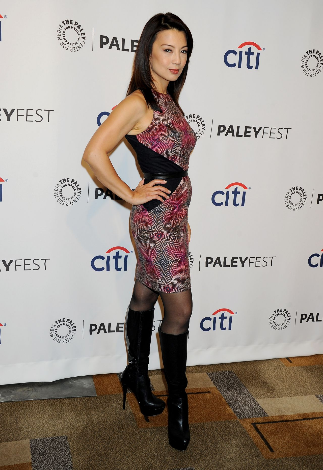 Ming Na Wen Paleyfest An Evening With The Agents Of