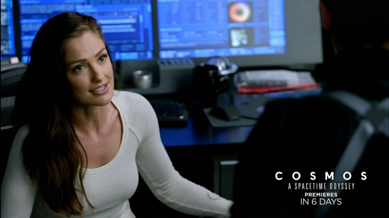 Minka Kelly Almost Human Tv Series Hdcaps S1e13 2014