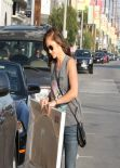 Minka Kelly in Jeans - Shopping in West Hollywood - March 2014
