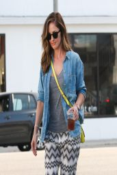 Minka Kelly - Out in Los Angeles, March 2014