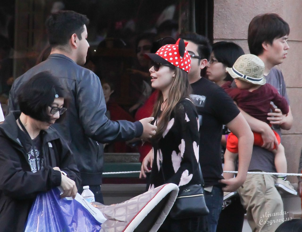 Miranda Cosgrove in Disneyland - Feb 2014