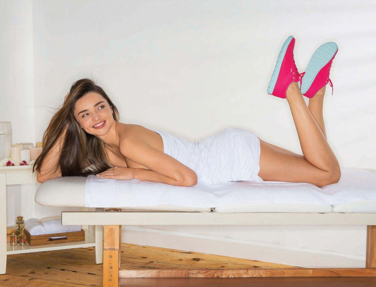Miranda Kerr - Reebok Skyscape Photoshoot