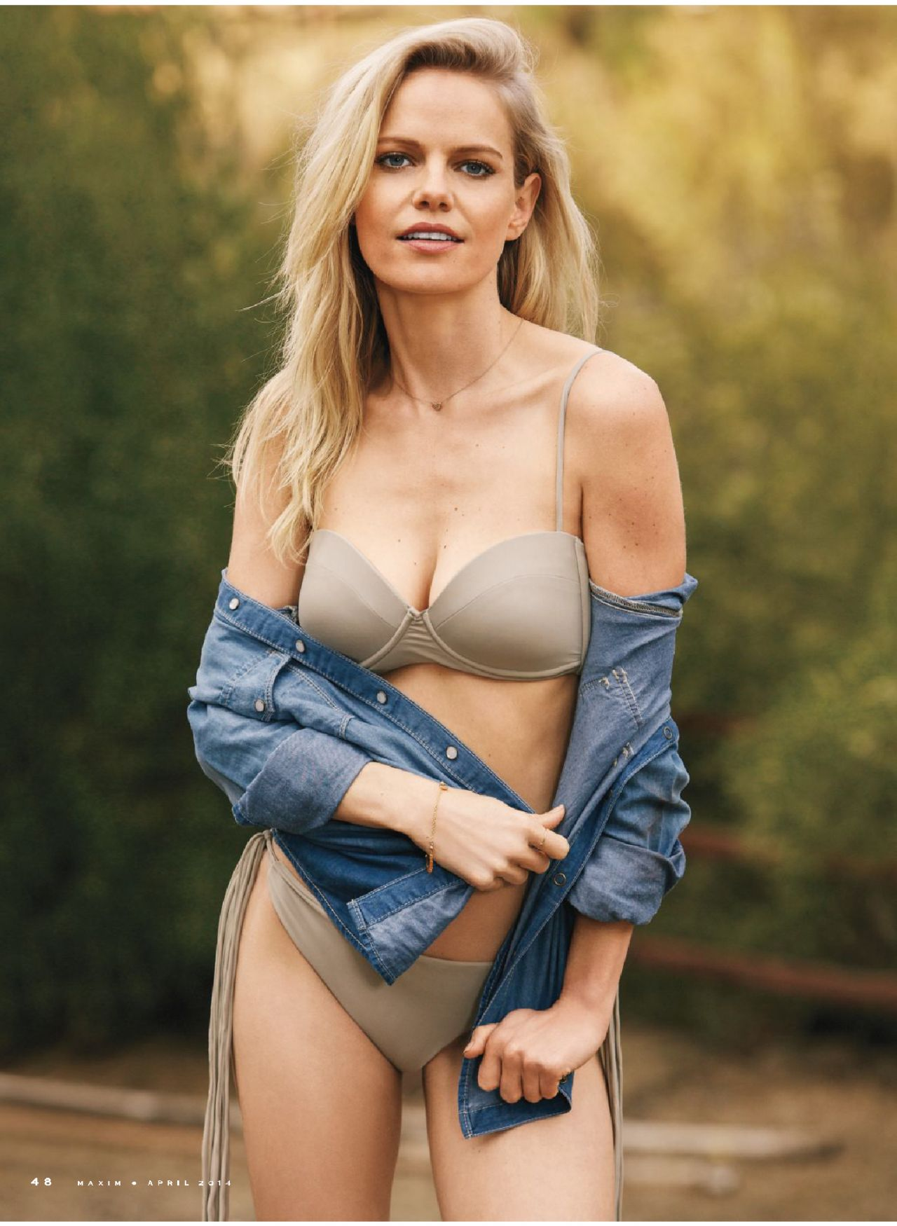 Mircea Monroe - Maxim Magazine April 2014 Issue
