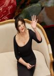Monica Bellucci in Moscow - Photocall at Dolce & Gabbana Shop at TSUM