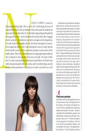Naomi Campbell – Shape Magazine (USA) April 2014 Issue