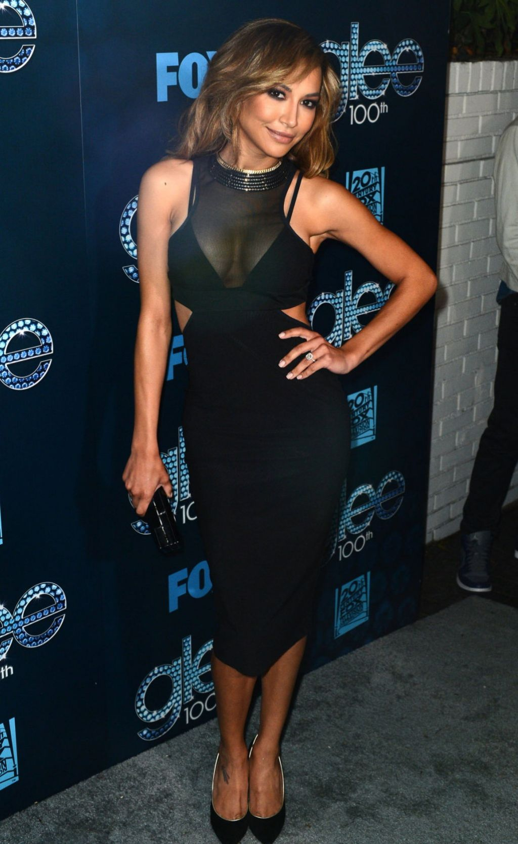Naya Rivera At Glee 100th Episode Celebration March 2014