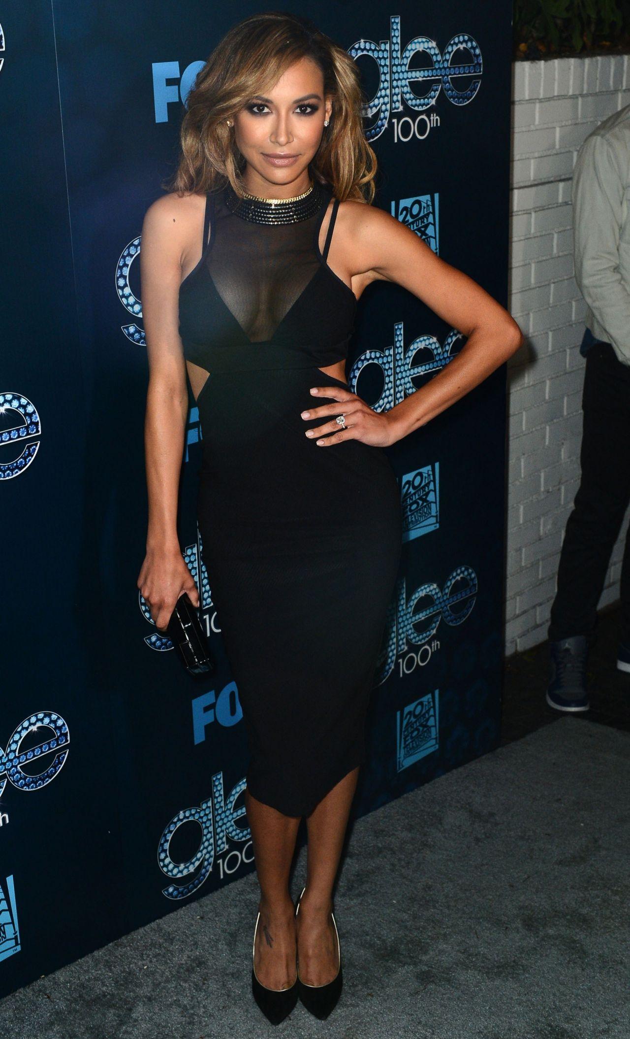Naya Rivera at 'Glee' 100th Episode Celebration - March 2014