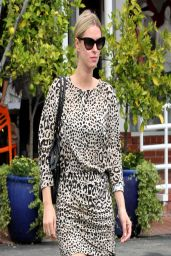 Nicky Hilton Casual Style - Leaves Fred Segal in Los Angeles, March 2014