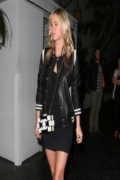 Nicky Hilton Night Out Style - at the Chateau Marmont in Los Angeles, March 2014