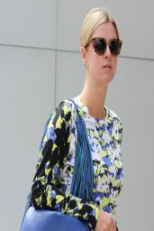 Nicky Hilton Street Style - Shopping on Robertson Boulevard in Beverly Hills - March 2014