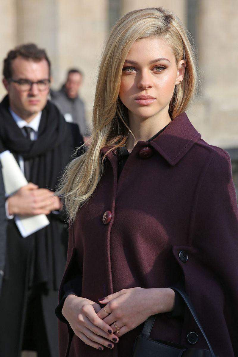 Nicola Peltz in Paris - Louis Vuitton F/W 2014-2015 Fashion Show, March 2014