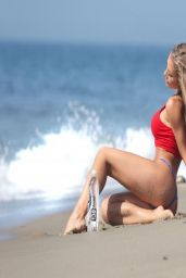 Nicole Aniston Bikini Photoshoot - Malibu, March 2014