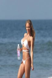 Nicole Aniston in a Bikini - Photoshoot in Malibu