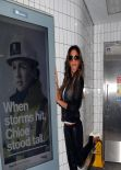 Nicole Scherzinger - Poses Next to Her  Missguided Clothing Line Advert in London