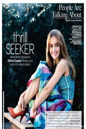 Olivia Cooke - Teen Vogue Magazine April 2014 Issue
