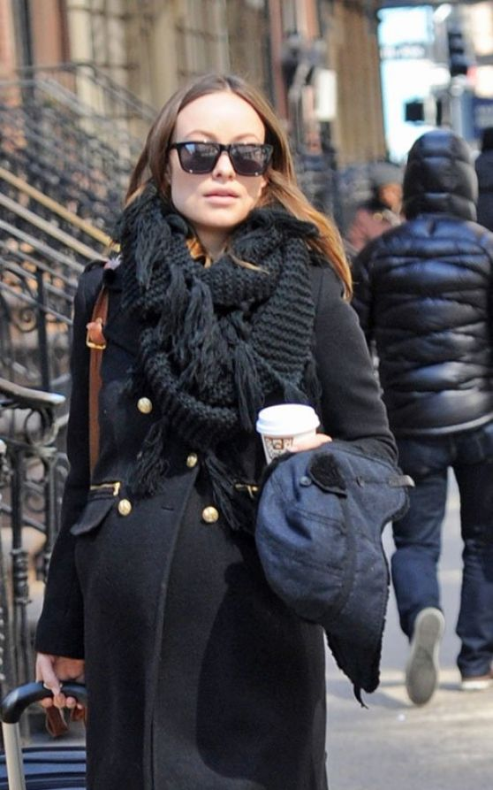 Olivia Wilde Street Style - Out and About in New York City - March 2014