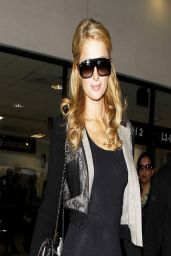 Paris Hilton At LAX Airport - March 2014