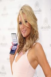 Paris Hilton in Germany - Beauty fair in Dusseldorf - March 2014