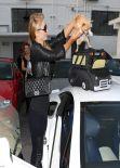 Paris Hilton Leaving Meche Hair Salon in Beverly Hills - March 2014