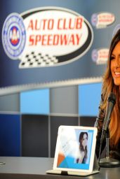 Pia Toscano - NASCAR Sprint Cup Series Auto Club 400 Photocall - Fontana, March 2014