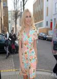 Pixie Lott Street Style - England 2014 World Cup Song Recording