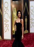 Rachel Smith Wearing Sherri Hill Dress at 2014 OSCARS