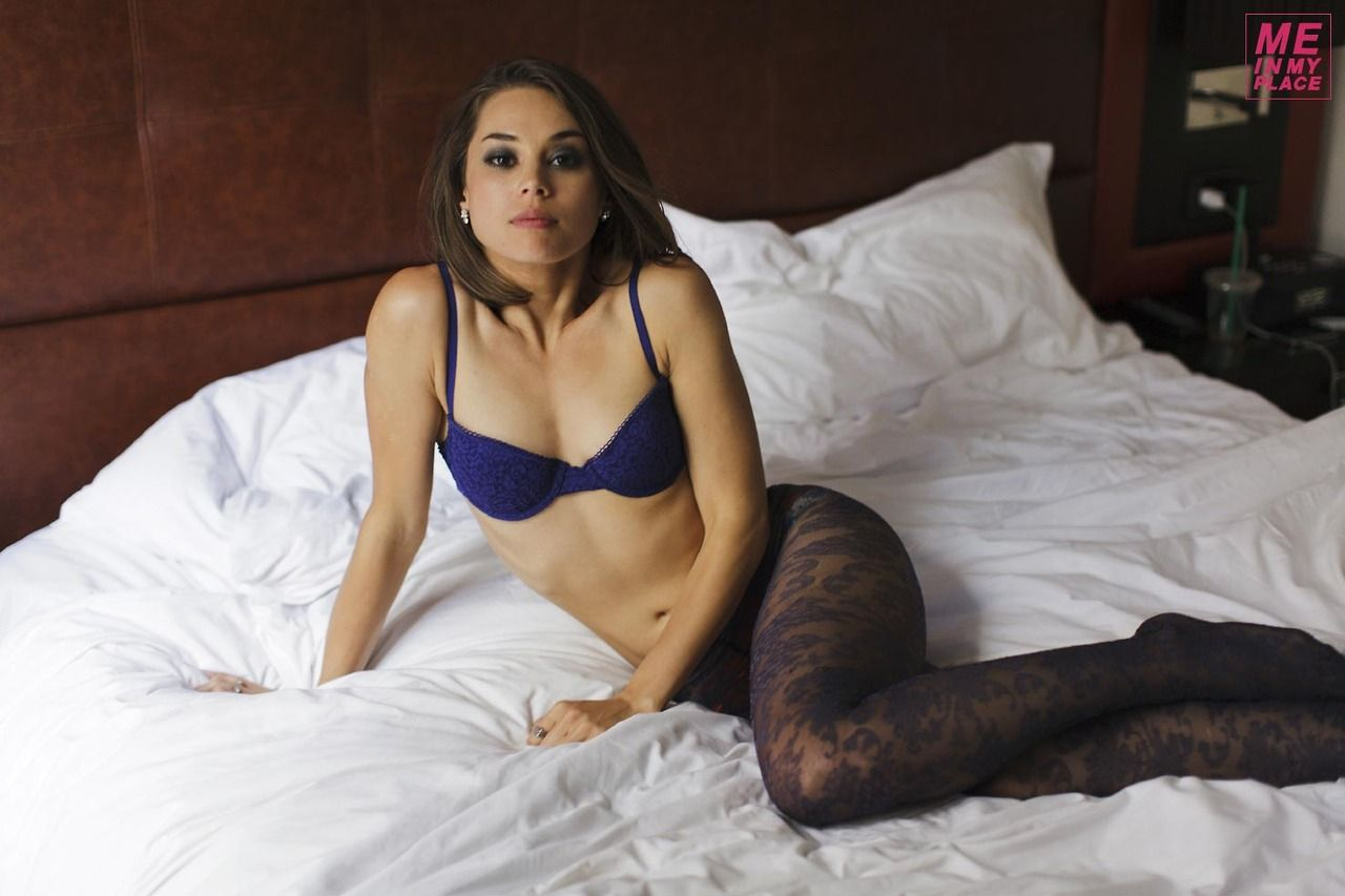 Rebecca Blumhagen - Me in My Place Photoshoot (2014)